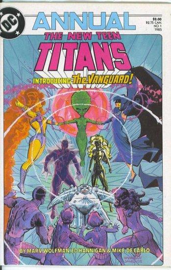 New Teen Titans Annual # 1, 9.2 NM -