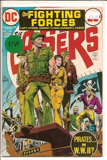 Our Fighting Forces # 139, 7.0 FN/VF