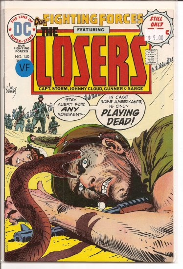 Our Fighting Forces # 150, 8.0 VF