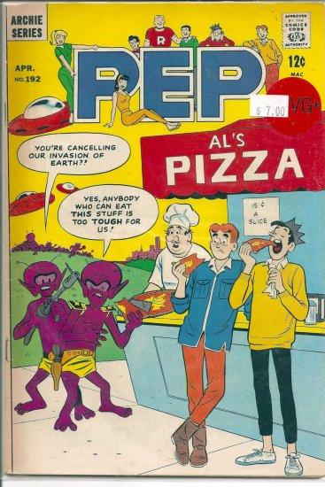 Pep Comics # 192, 4.5 VG +