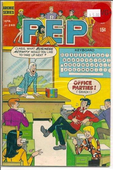 Pep Comics # 240, 4.5 VG +