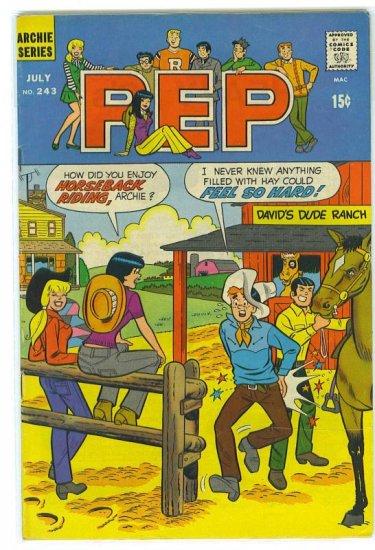 Pep Comics # 243, 4.5 VG +