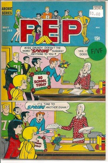 Pep Comics # 253, 7.0 FN/VF