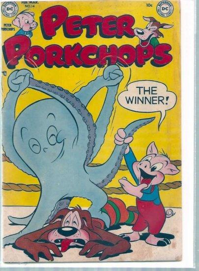 PETER PORKCHOPS # 14, 2.5 GD +