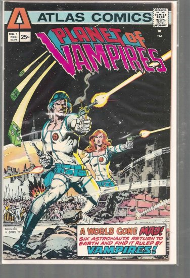 PLANET OF VAMPIRES # 1, 7.0 FN/VF