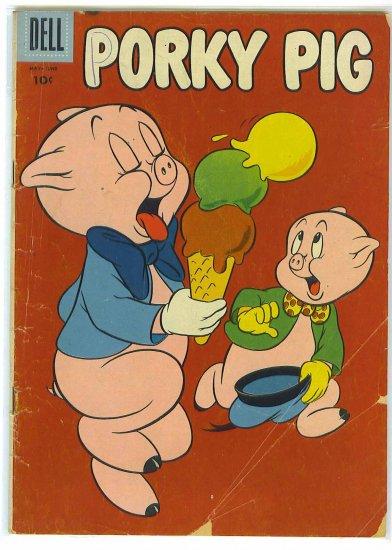 Porky Pig # 46, 2.5 GD +