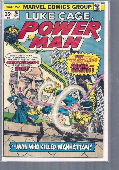 POWER MAN # 28, 7.0 FN/VF