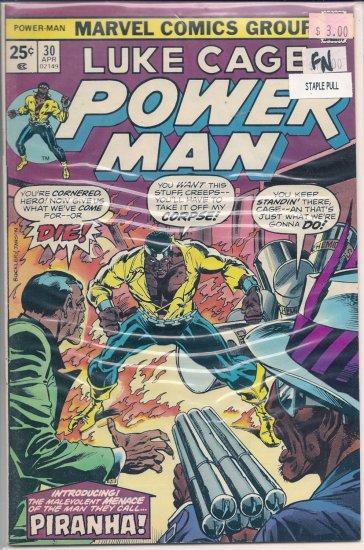 Power Man # 30, 6.0 FN