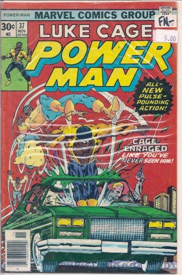 Power Man # 37, 5.5 FN -