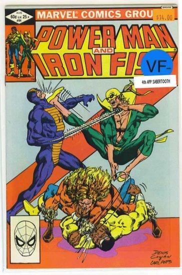 Power Man # 84, 7.5 VF -