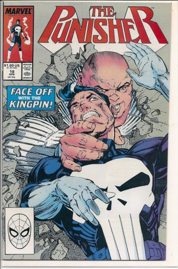 PUNISHER # 18, 9.0 VF/NM