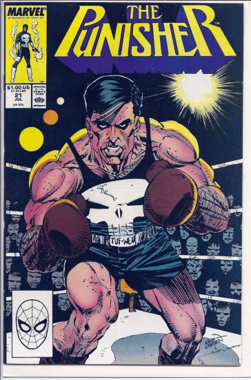 PUNISHER # 21, 9.2 NM -