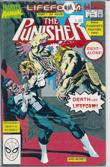 Punisher Annual # 3, 9.2 NM -