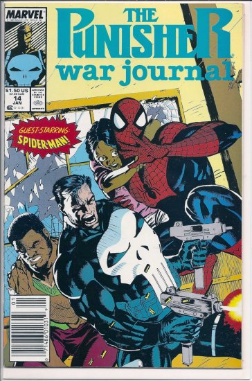 PUNISHER WAR JOURNAL # 14, 9.0 VF/NM