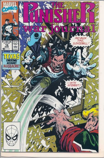 PUNISHER WAR JOURNAL # 16, 9.2 NM -