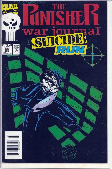 PUNISHER WAR JOURNAL # 63, 7.5 VF -