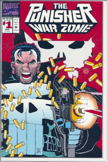 PUNISHER WAR ZONE # 1, 9.4 NM
