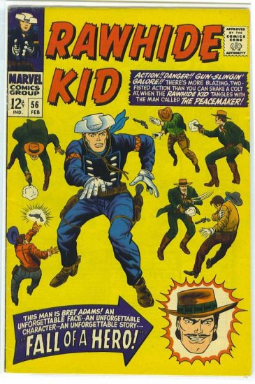 Rawhide Kid # 56, 3.0 GD/VG