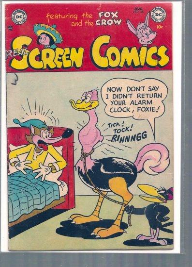 REAL SCREEN COMICS # 65, 4.0 VG