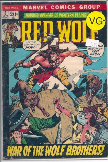 Red Wolf # 3, 3.5 VG -