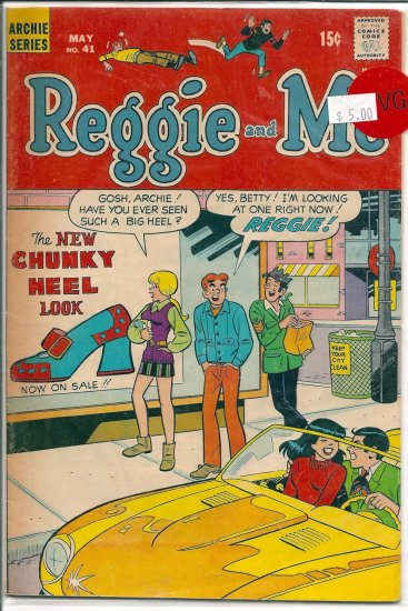 Reggie And Me # 41, 4.5 VG +