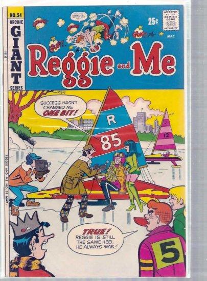 REGGIE AND ME # 54, 7.5 VF -