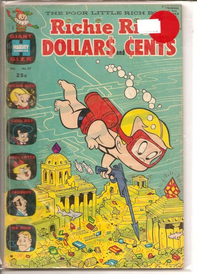 Richie Rich Dollars & Cents # 27, 4.5 VG +
