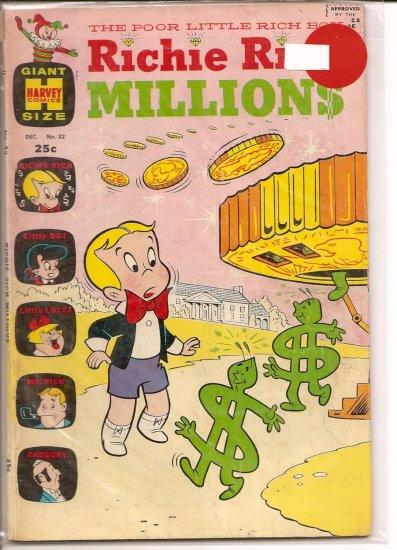Richie Rich Millions # 32, 4.0 VG