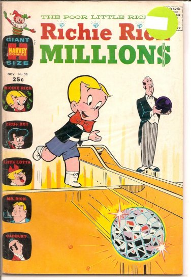 Richie Rich Millions # 38, 6.5 FN +
