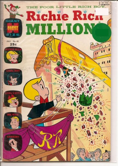 Richie Rich Millions # 42, 7.0 FN/VF