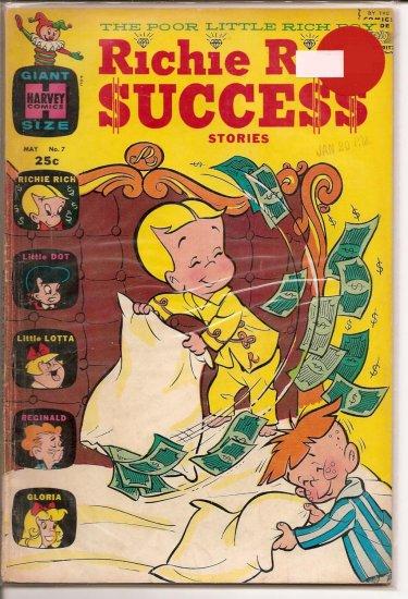 Richie Rich Success Stories # 7, 4.5 VG +