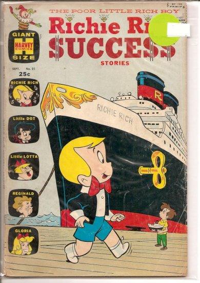 Richie Rich Success Stories # 21, 4.0 VG
