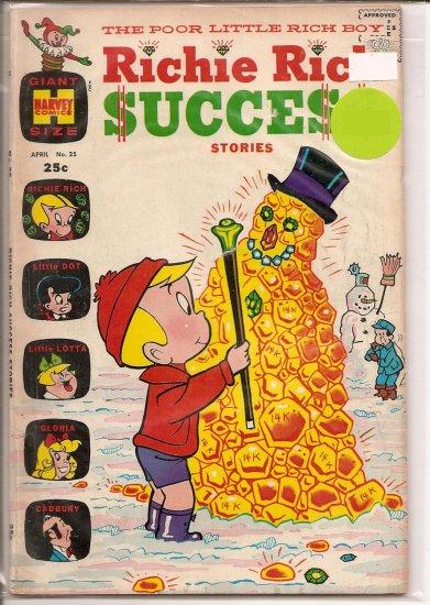 Richie Rich Success Stories # 25, 5.0 VG/FN