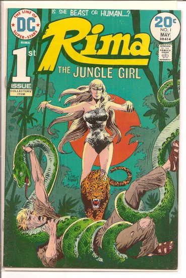 Rima, The Jungle Girl # 1, 5.0 VG/FN