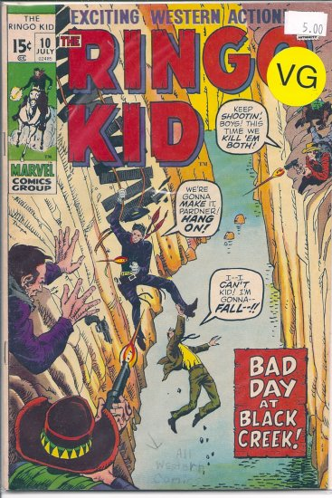 Ringo Kid # 10, 4.0 VG
