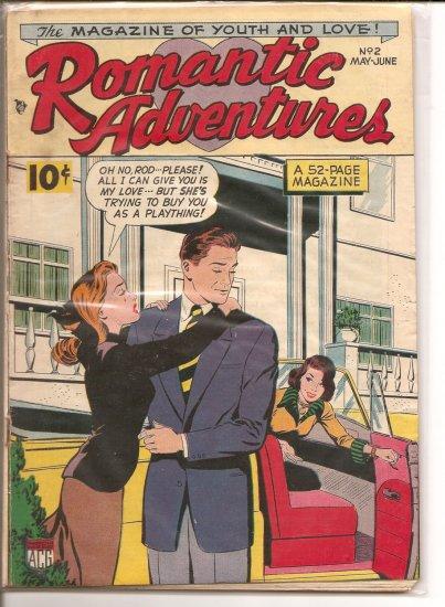 Romantic Adventures # 2, 3.5 VG -