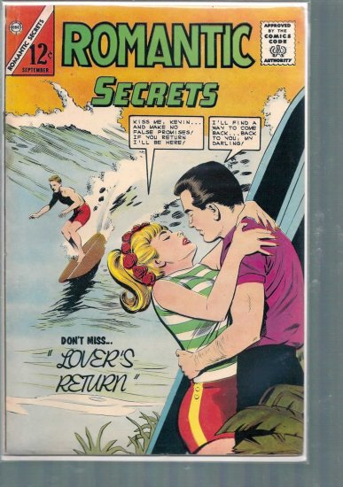 ROMANTIC SECRETS # 51, 4.5 VG +
