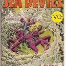 Sea Devils # 4, 4.5 VG +
