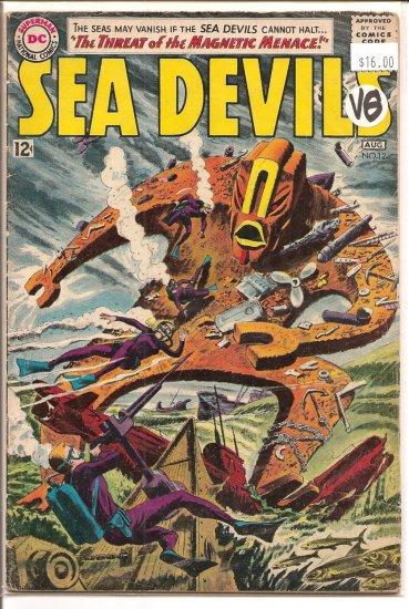 Sea Devils # 12, 4.0 VG
