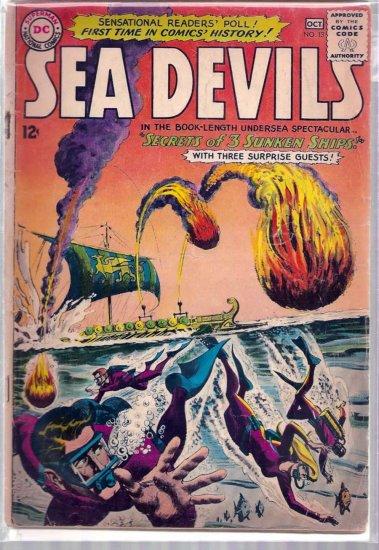 SEA DEVILS # 13, 3.0 GD/VG