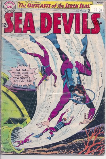 Sea Devils # 23, 2.5 GD +