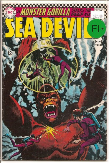 Sea Devils # 30, 6.5 FN +