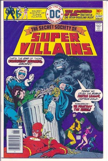 SECRET SOCIETY OF SUPER VILLAINS # 1, 5.5 FN -