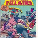 SECRET SOCIETY OF SUPER VILLAINS # 4, 4.5 VG +