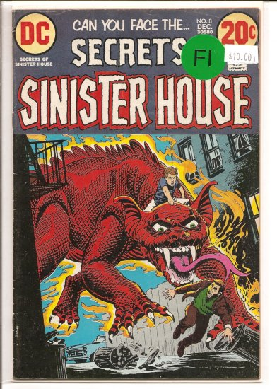 Secrets Of Sinister House # 8, 6.0 FN