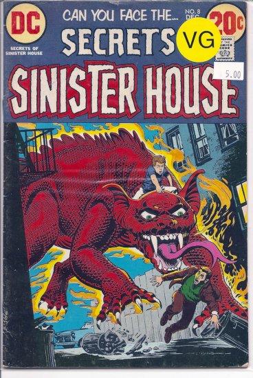 Secrets Of Sinister House # 8, 4.0 VG