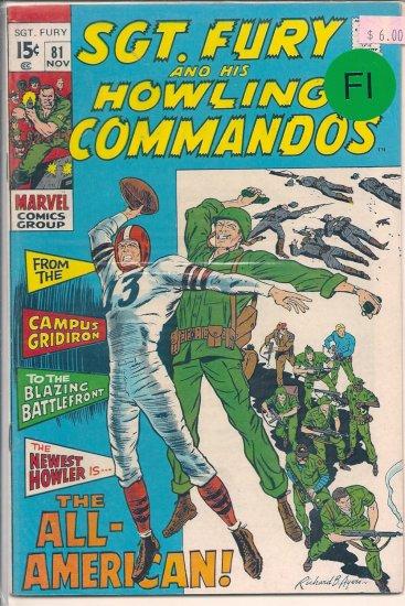 Sgt. Fury # 81, 6.0 FN