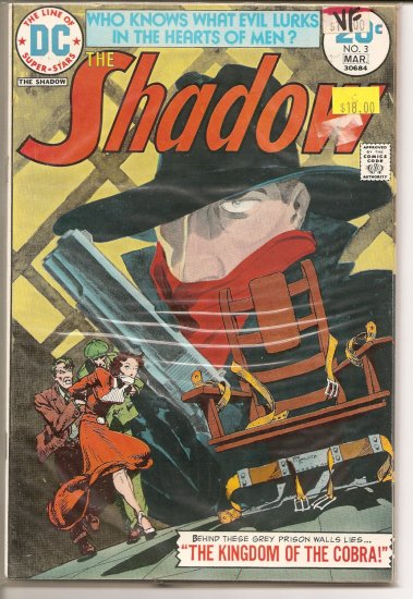 Shadow # 3, 8.0 VF