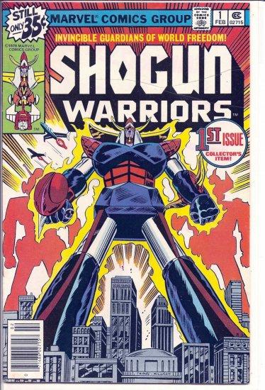 SHOGUN WARRIORS # 1, 4.5 VG +