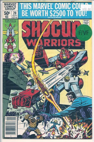 Shogun Warriors # 20, 7.0 FN/VF